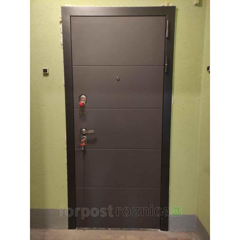 Входная дверь Лабиринт ART графит 13 - Грей софт (с шумоизоляцией)