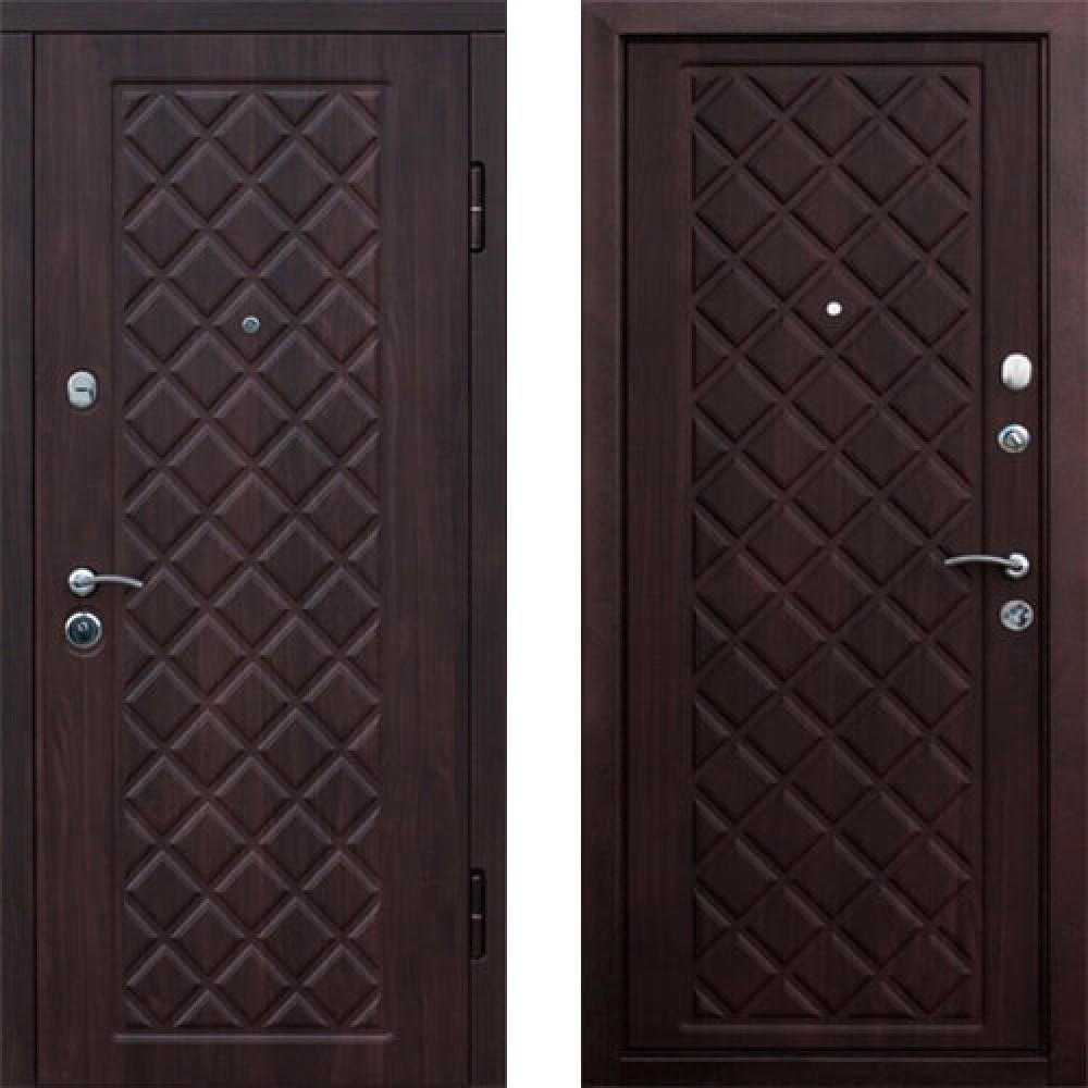 Входная дверь Kamelot Темная Вишня (Трехконтурные)