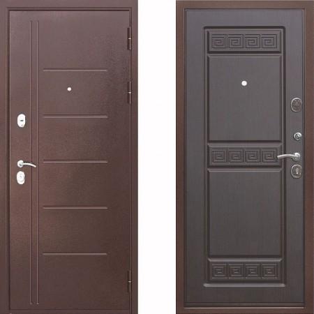 Входная дверь Цитадель Троя 10 см Венге (Трехконтурные)