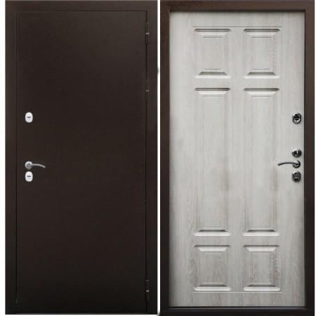 Входная дверь с терморазрывом для дома Йошкар-Ола Сибирь 3К Дуб филадельфия крем (С терморазрывом)