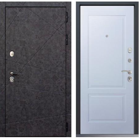 Металлическая дверь Йошкар-Ола GEOMETRIA 05 Белый матовый