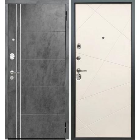 Металлическая дверь Йошкар-Ола Периметр Белый матовый
