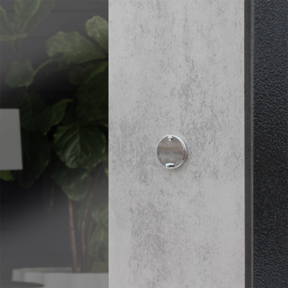 Металлическая дверь Йошкар-Ола Рекс Дуэт Б Бетон темный СБ-16 Бетон светлый
