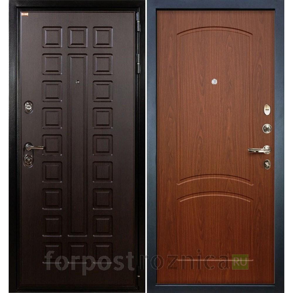 Входная дверь Лекс Гладиатор-3К Береза мореная (панель №11)