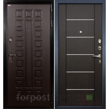 Входная дверь  Лекс Гладиатор-3К Венге (панель №24)