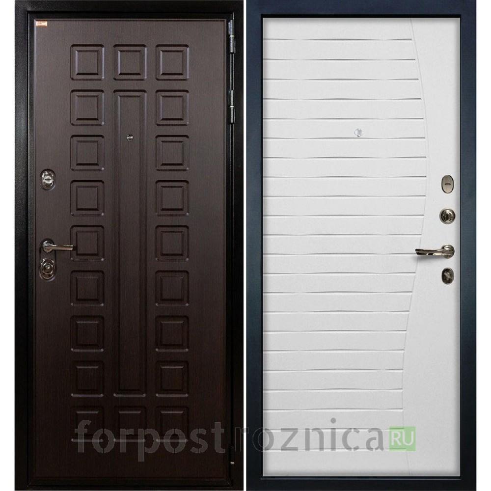 Входная дверь Лекс Гладиатор-3К Ясень белый (панель №34)