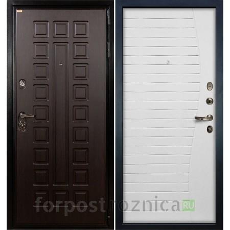 Входная дверь Лекс Гладиатор-3К Ясень белый (панель №36)