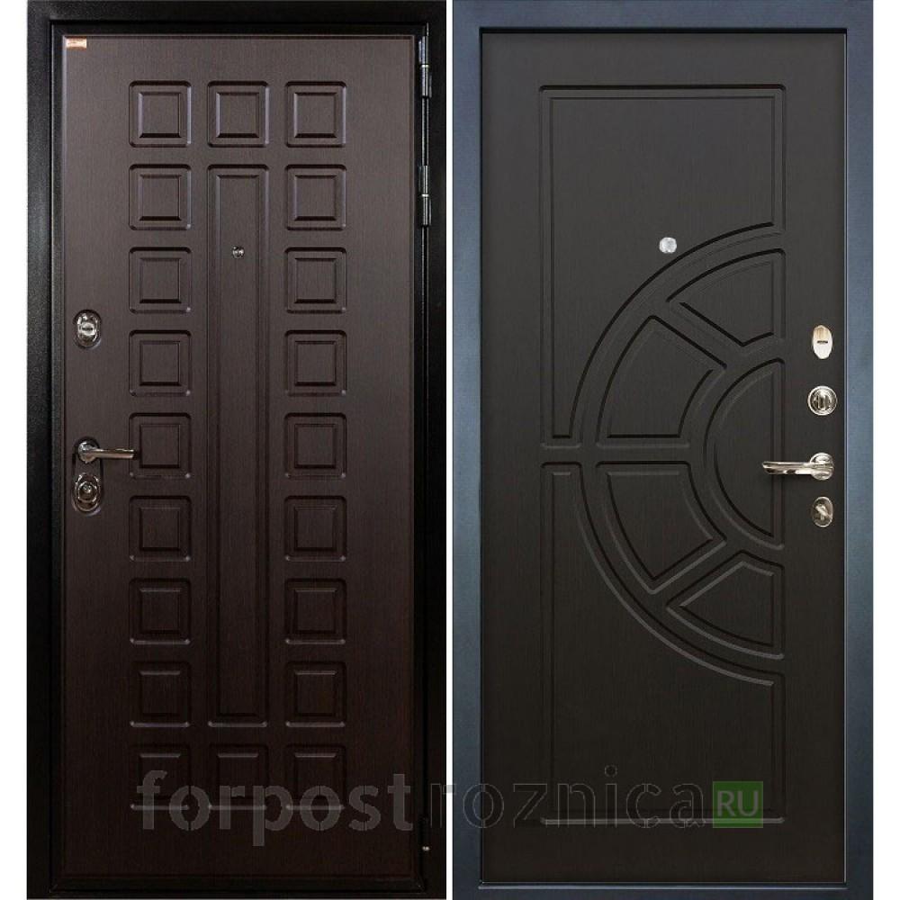Входная дверь  Лекс Гладиатор-3К Венге (панель №43)