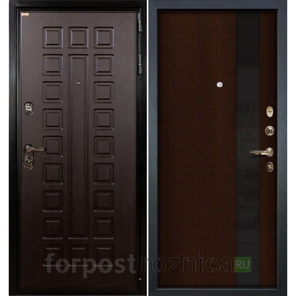 Входная дверь  Лекс Гладиатор-3К Новита Венге (панель №53)
