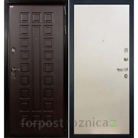 Входная дверь Лекс Гладиатор-3К Ясень белый (панель №62)