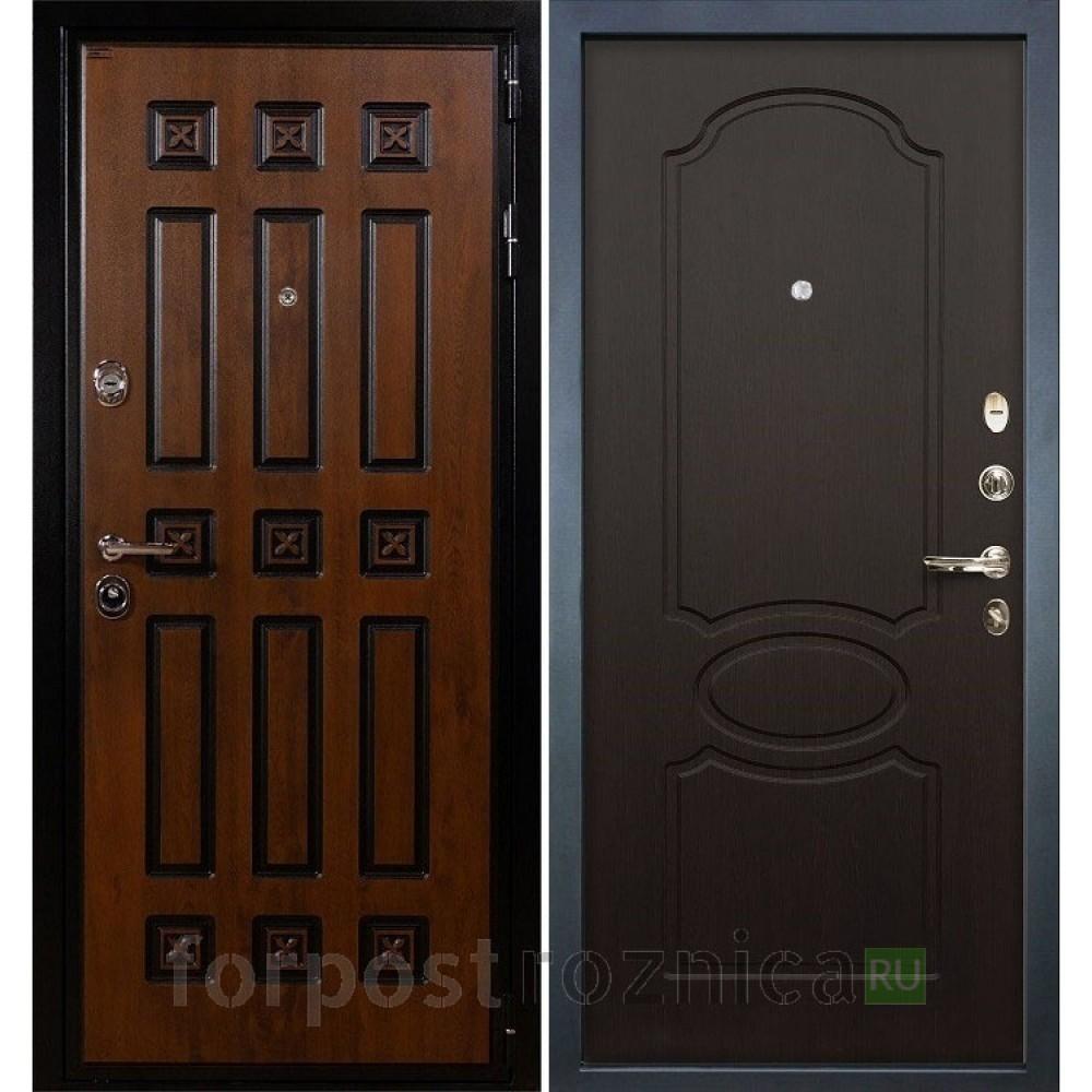Входная дверь Лекс Гладиатор 3К Винорит Венге (панель №13)