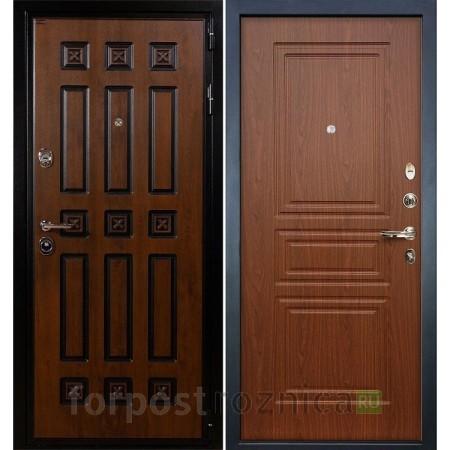 Входная дверь   Лекс Гладиатор 3К Винорит Береза мореная (панель №19)