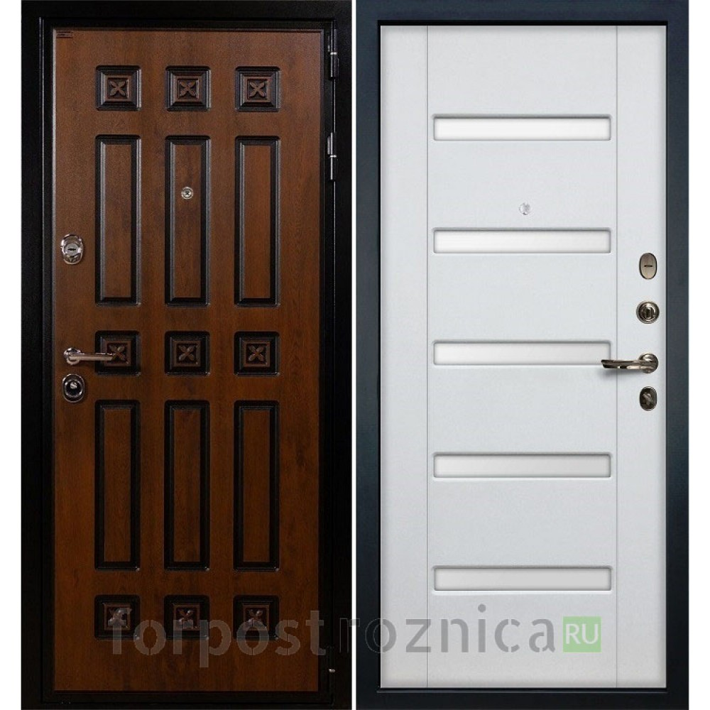 Входная дверь Лекс Гладиатор 3К Винорит Ясень белый (панель №34)