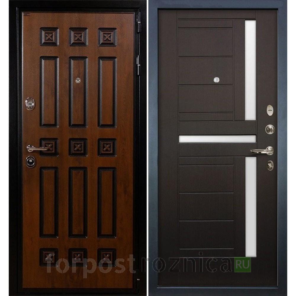 Входная дверь Лекс Гладиатор 3К Винорит Венге (панель №35)