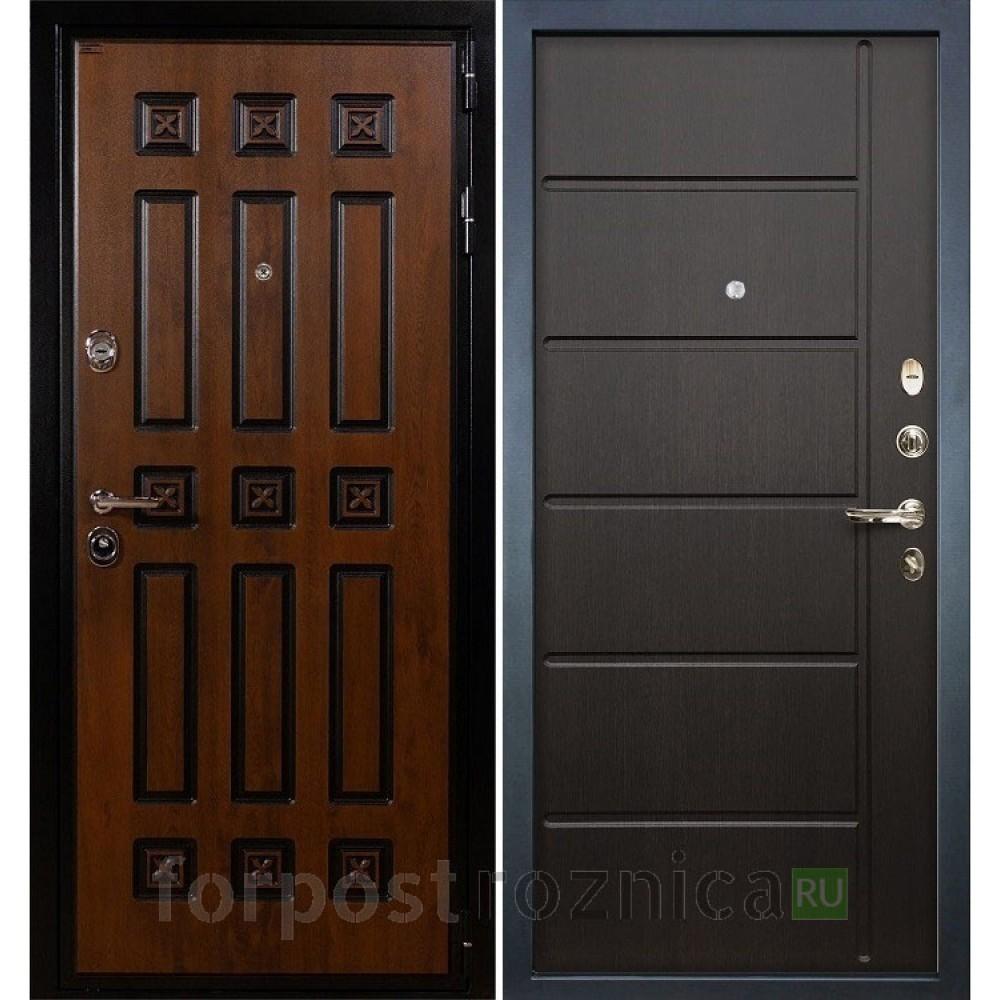 Входная дверь Лекс Гладиатор 3К Винорит Венге (панель №41)