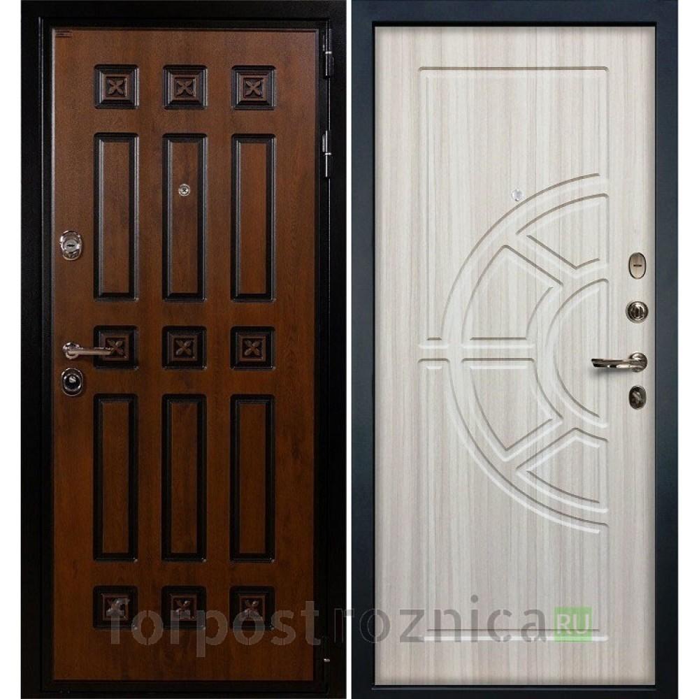 Входная дверь Лекс Гладиатор 3К Винорит Сандал белый (панель №44)