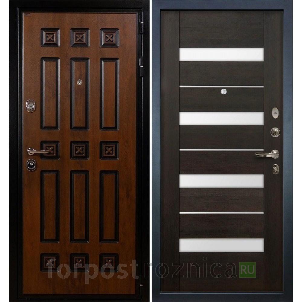 Входная дверь Лекс Гладиатор 3К Винорит Сицилио Венге (панель №51)