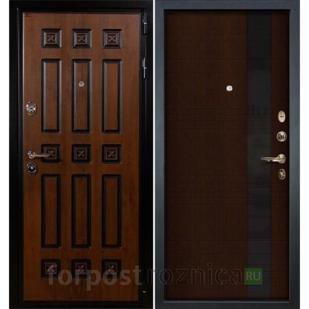 Входная дверь  Лекс Гладиатор 3К Винорит Новита Венге (панель №53)