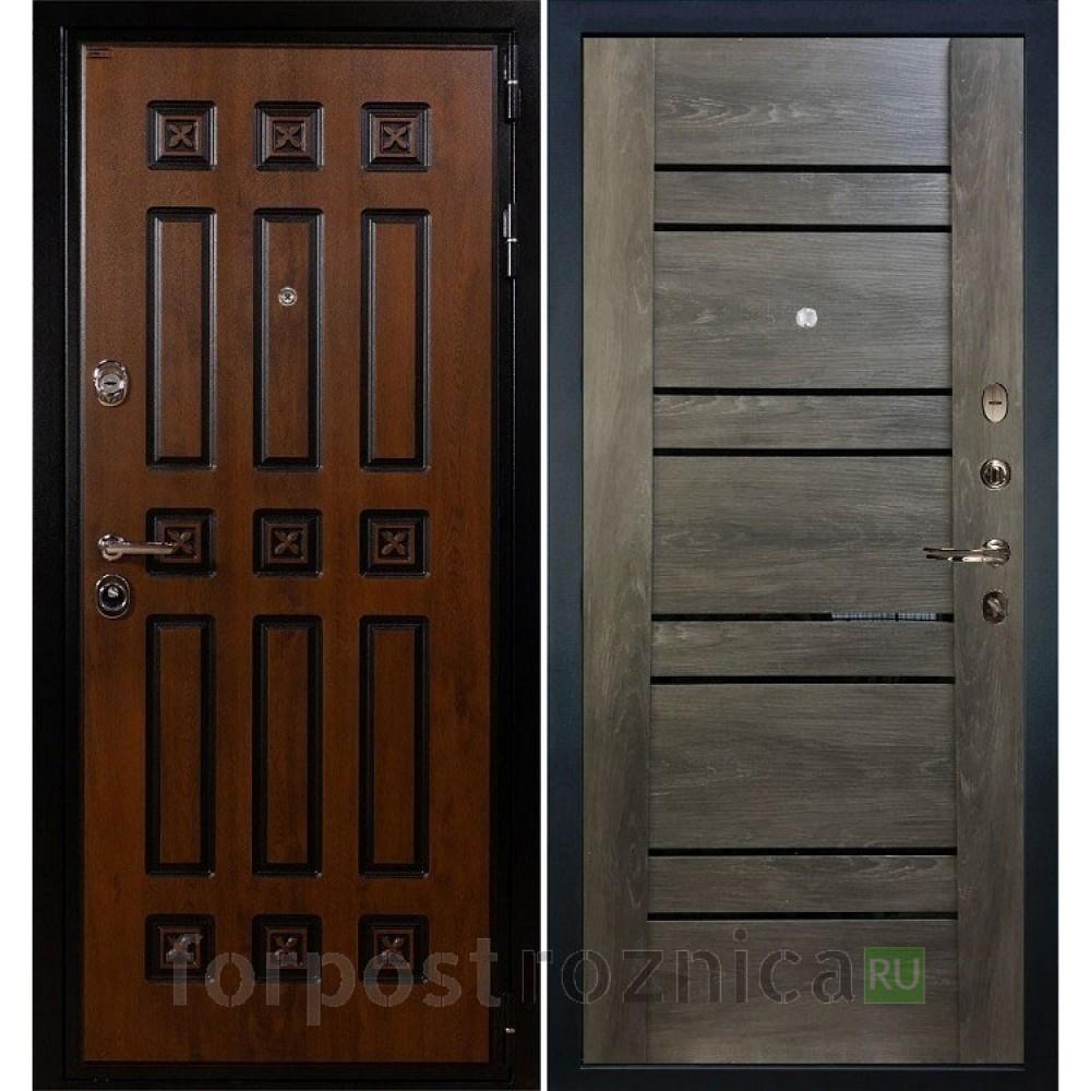 Входная дверь Лекс Гладиатор 3К Винорит Терра Графит шале (панель №64)