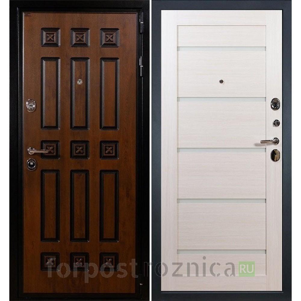 Входная дверь Лекс Гладиатор 3К Винорит Клеопатра-2 Дуб беленый (панель №58)