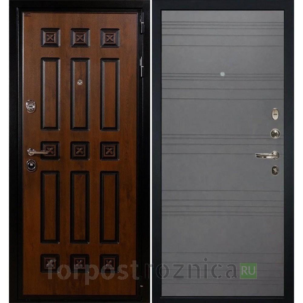 Входная дверь Лекс Гладиатор 3К Винорит Графит софт (панель №70)