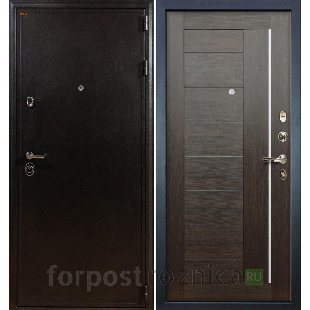 Входная дверь Лекс Колизей Верджиния Венге (панель №39)