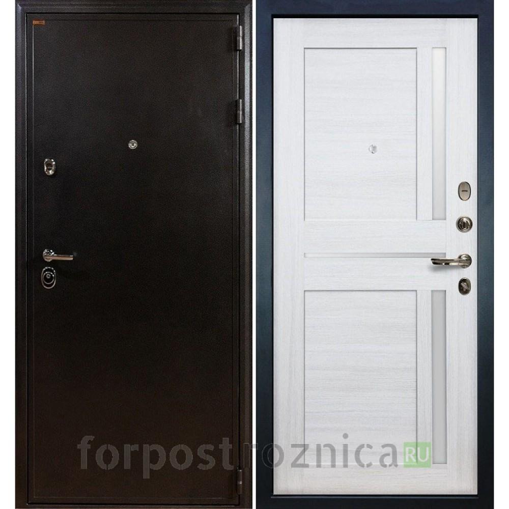Входная дверь Лекс Колизей Баджио Дуб беленый (панель №47)