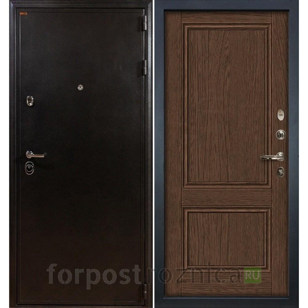 Входная дверь Лекс Колизей Энигма-1 Орех (панель №57)