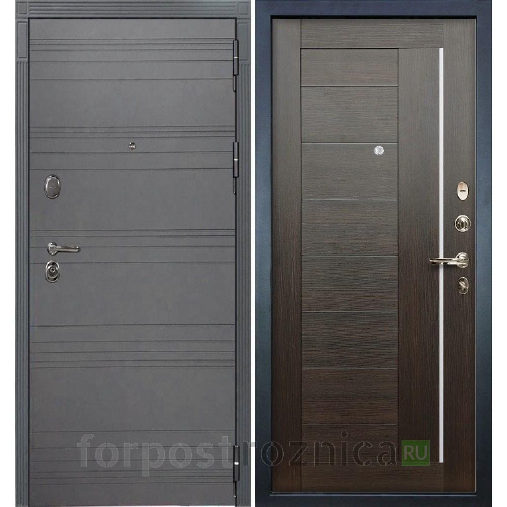 Входная дверь Лекс Легион 3К Софт графит / Верджиния Венге (панель №39)