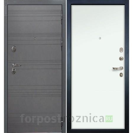 Входная дверь  Лекс Легион 3К Софт графит / Белый (панель №59)
