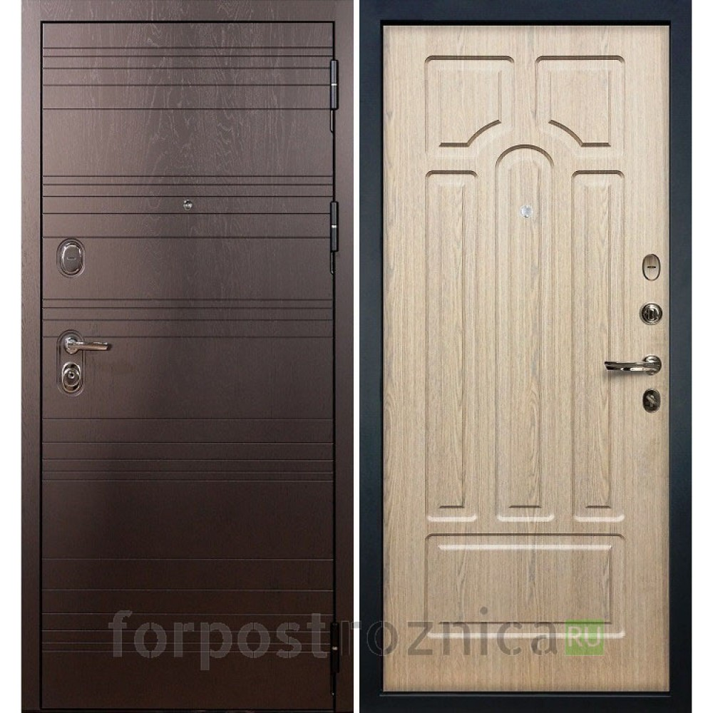 Входная дверь Лекс 3К Легион Дуб беленый (панель №25)