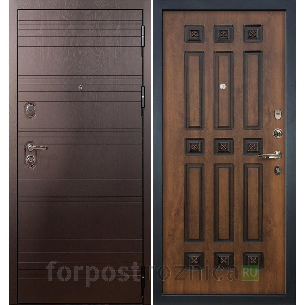 Входная дверь Лекс Легион 3К Голден патина черная (панель №33)