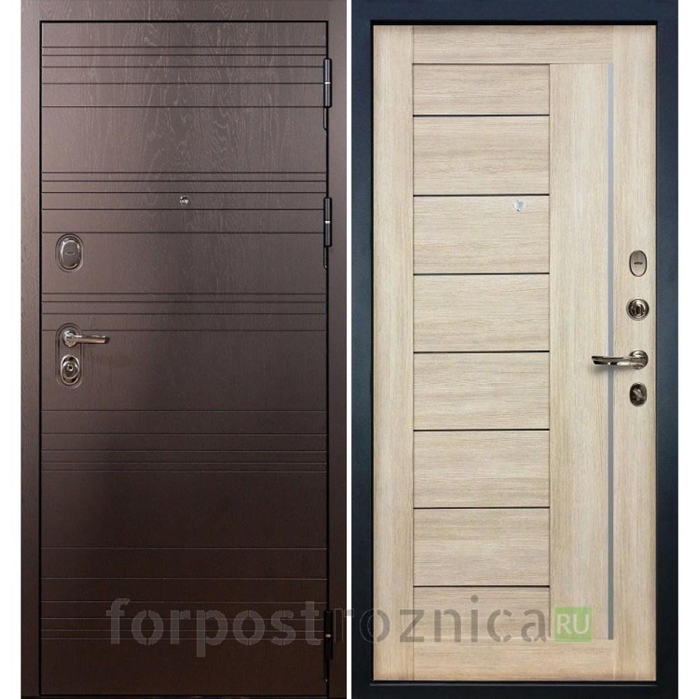 Входная дверь Лекс Легион 3К Верджиния Ясень кремовый (панель №40)
