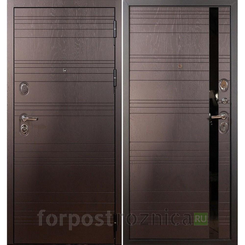 Входная дверь Лекс Легион 3К Ясень шоколад (панель №31)