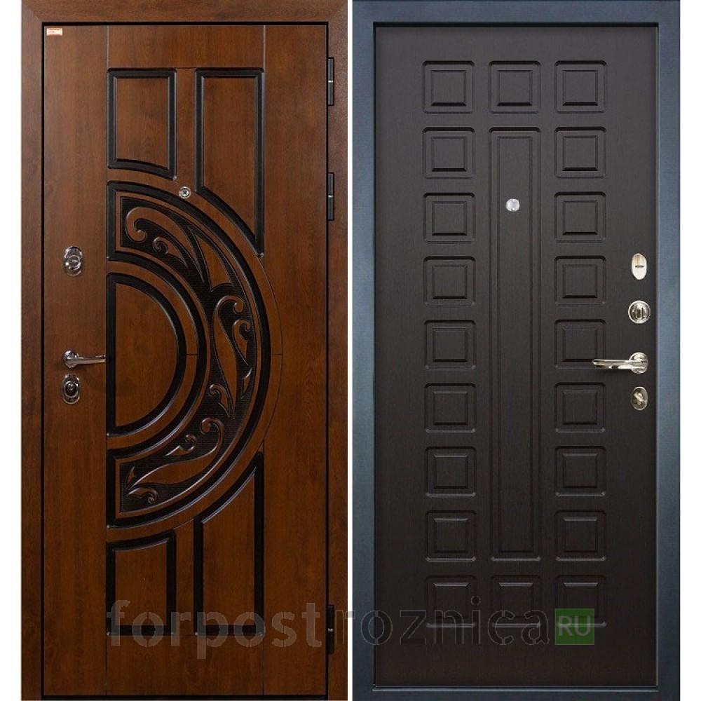 Входная дверь Лекс Спартак Cisa Венге (панель №21)