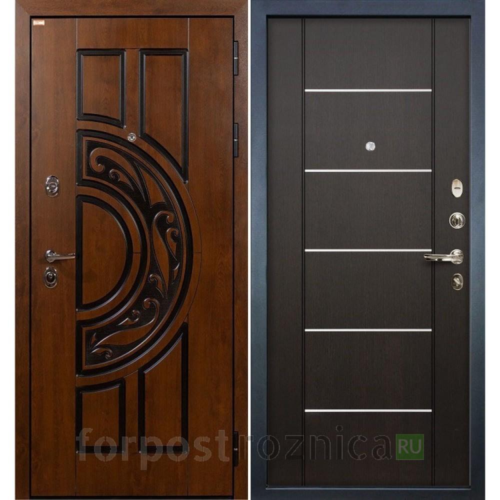 Входная дверь Лекс Спартак Cisa Венге (панель №24)