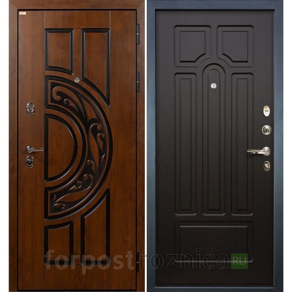 Входная дверь Лекс Спартак Cisa Венге (панель №32)