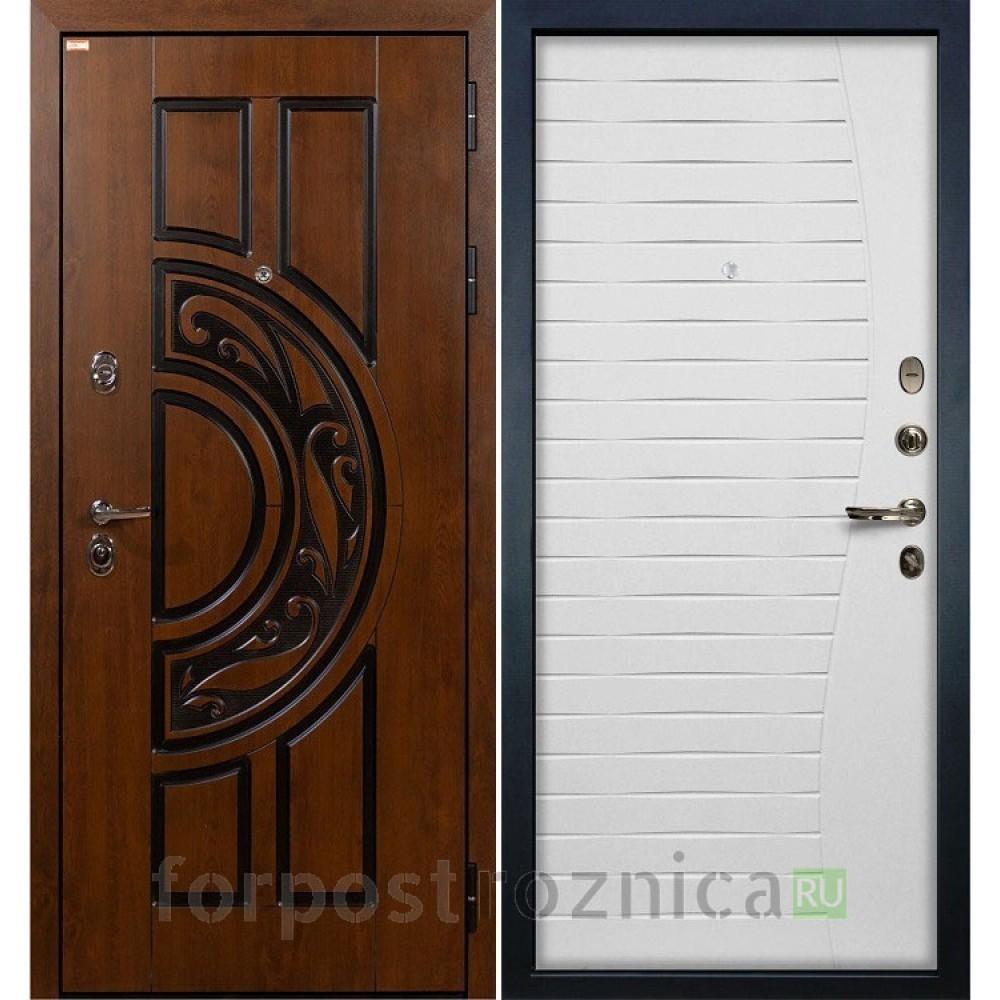 Входная дверь Лекс Спартак Cisa Ясень белый (панель №36)