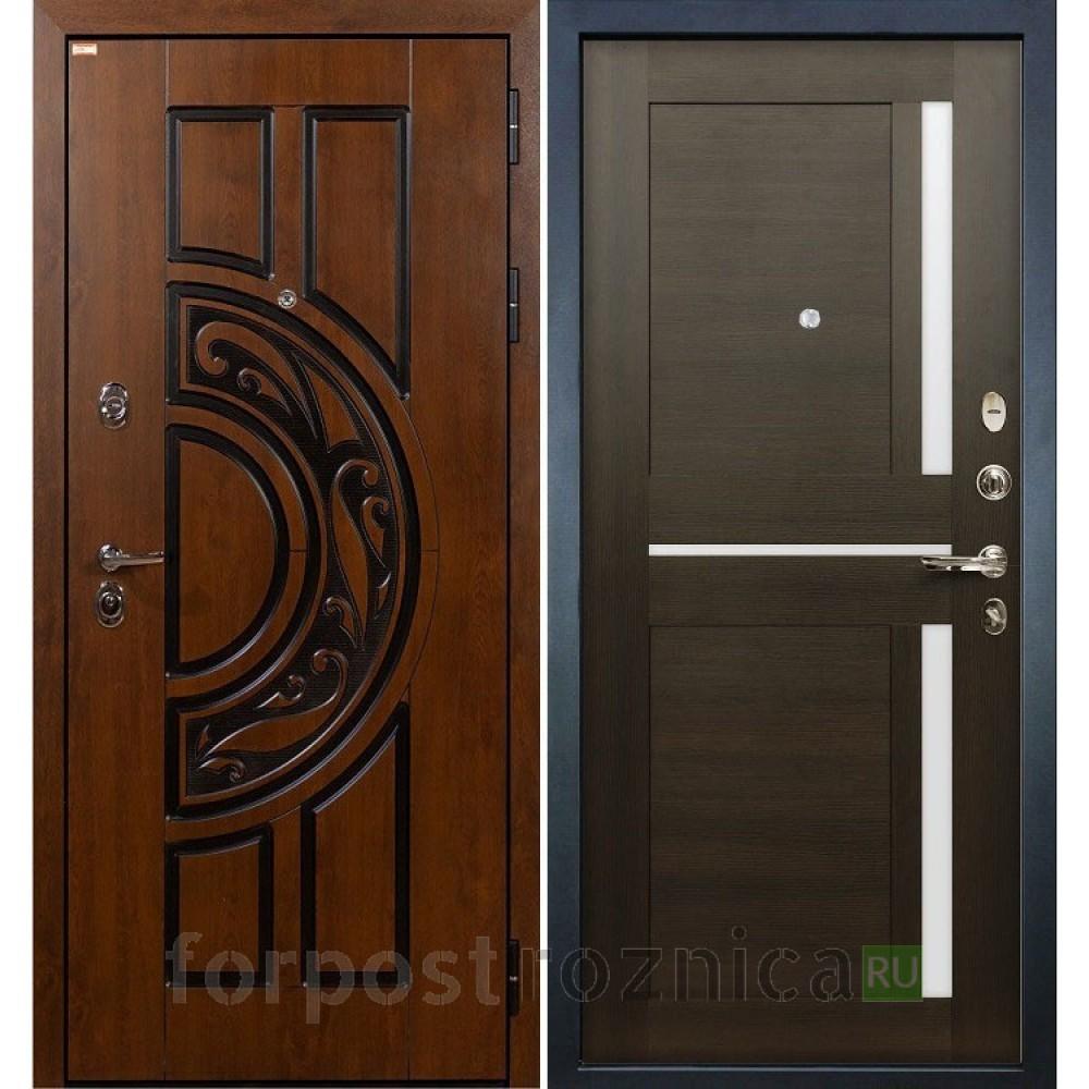 Входная дверь Лекс Спартак Cisa Баджио Венге (панель №50)