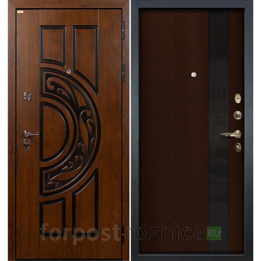 Входная дверь Лекс Спартак Cisa Новита Венге (панель №53)