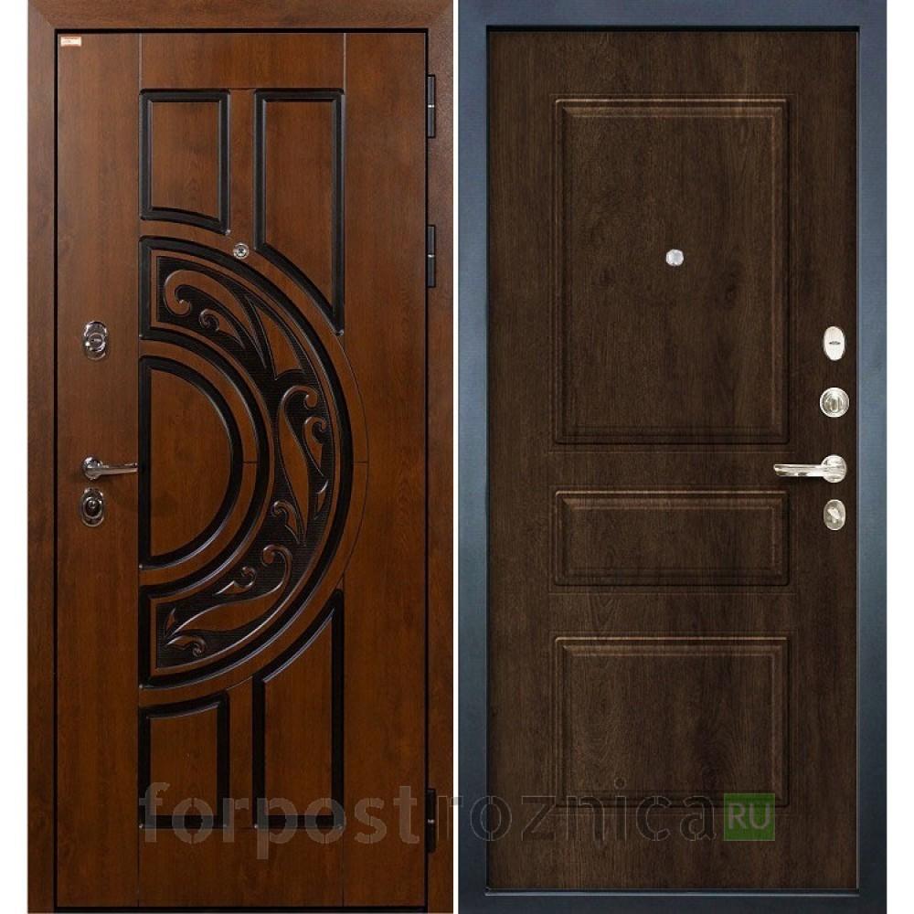 Входная дверь Лекс Спартак Cisa Винорит Алмон 28 (панель №60)