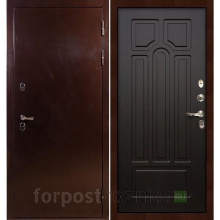Входная дверь с терморазрывом Лекс Термо Сибирь 3К Венге (панель №32)