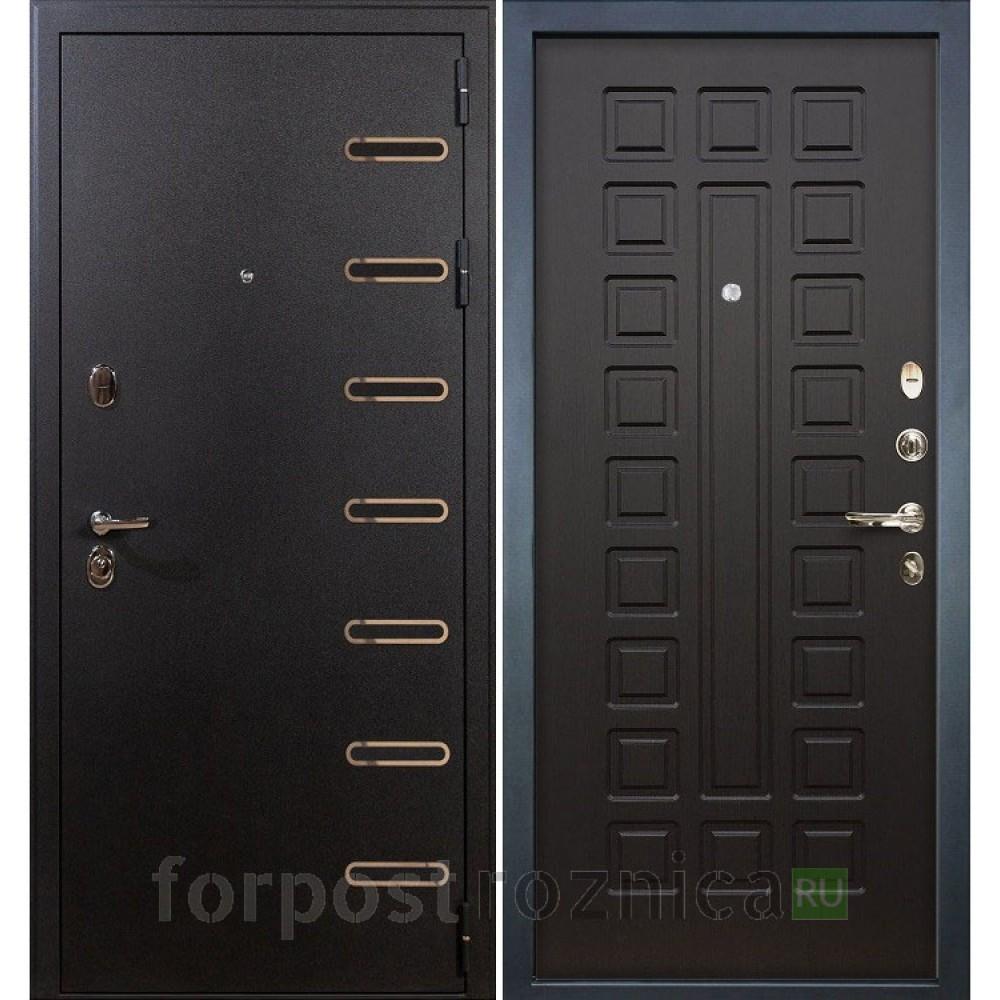 Входная дверь Лекс Витязь 21 Венге (Трехконтурные)
