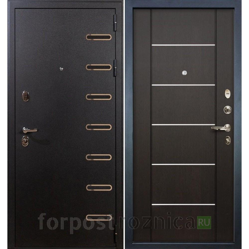 Входная дверь Лекс Витязь 24 Венге (Трехконтурные)