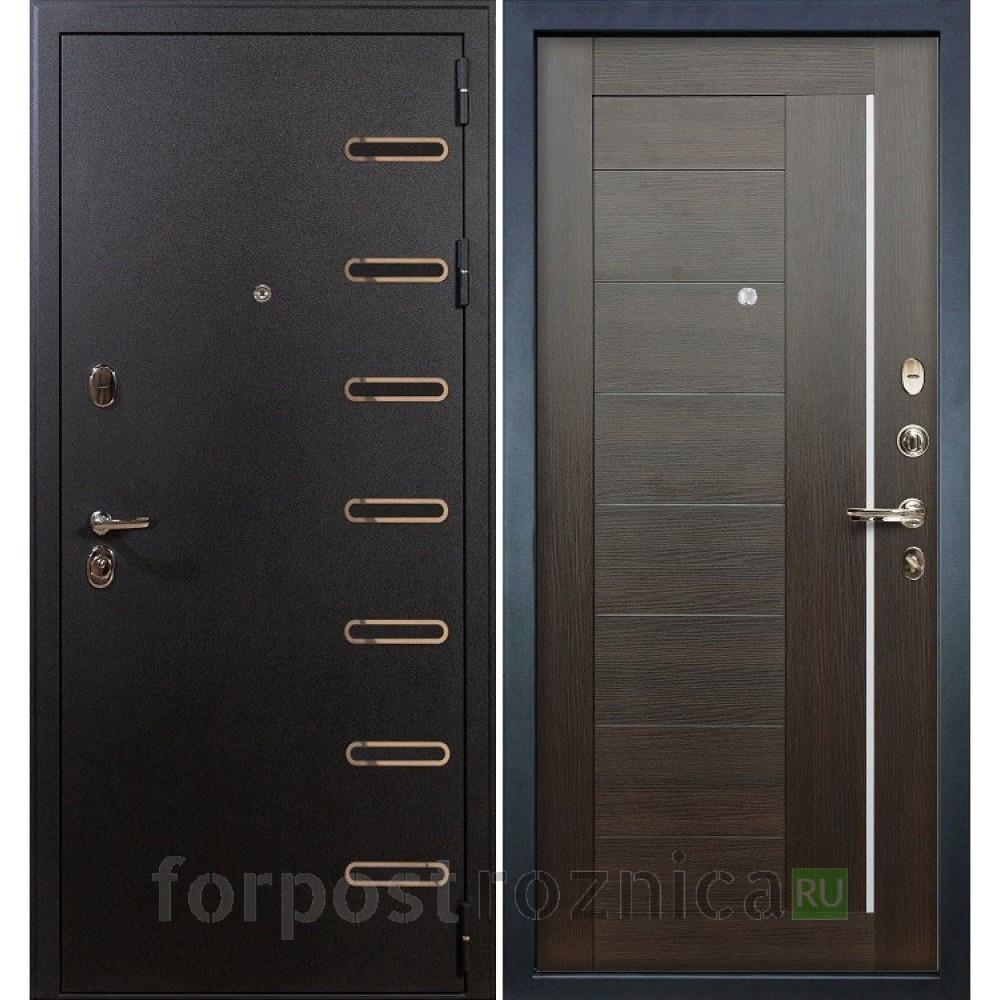 Входная дверь Лекс Витязь 39 Верджиния Венге (Трехконтурные)