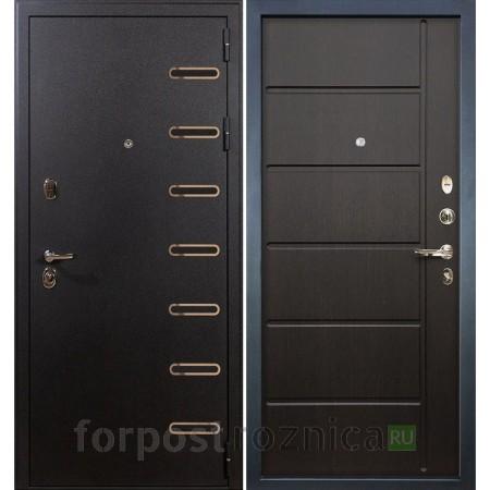 Входная дверь Лекс Витязь 41 Венге  (Трехконтурные)
