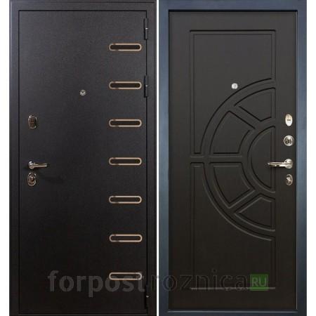 Входная дверь Лекс Витязь 43 Венге (Трехконтурные)