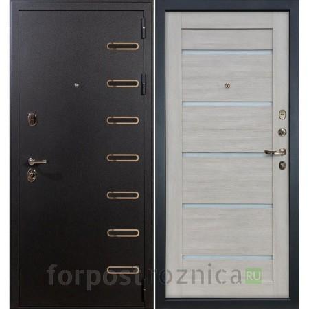 Входная дверь Лекс Витязь 66 Клеопатра-2 Ясень кремовый