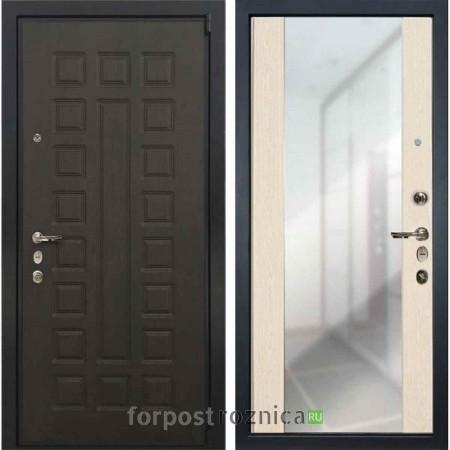 Входная дверь Лекс Неаполь MOTTURA / Беленый дуб №45 (с зеркалом)