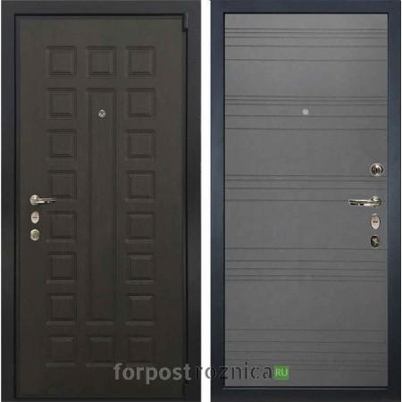 Входная дверь Лекс 4А Неаполь MOTTURA Графит софт №70